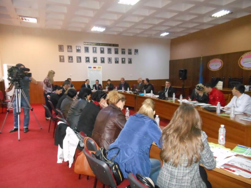 Takimi prezantues IPA CBC, Pogradec, 30 Prill 2014