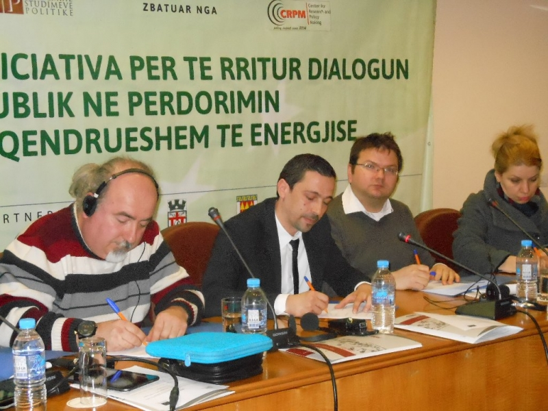 The regional conference in Korca on energy