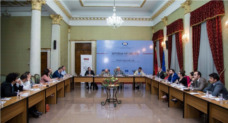 Takimi me komisionin e reformes se Drejtesise