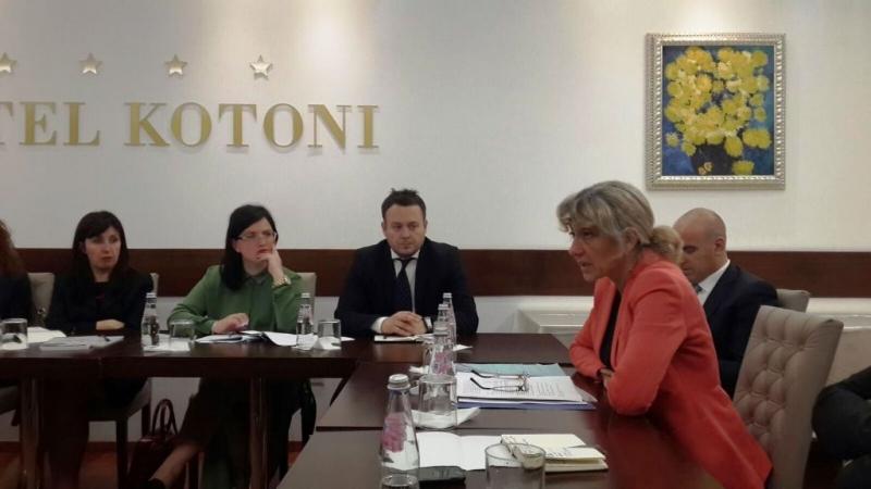 Diskutim me drejtoreshen e Keshillit te Evropes