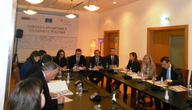 Presented research on Foreign Investments in Albania